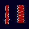 Спектр сигнала с тональной модуляцией.