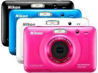 Компактная камера Nikon Coolpix S30 для туристов.