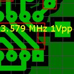 Точка подачи сигнала опорного генератора.